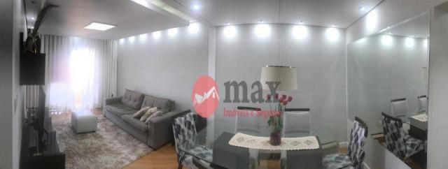 Apartamento com 3 dormitórios à venda, 100 m² por R$ 450.000 - Centro - Suzano/SP - Foto 11