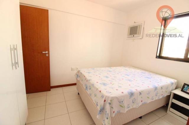 Apartamento com 2 dormitórios à venda, 65 m² por R$ 350.000 - Jatiúca - Maceió/AL - Foto 13