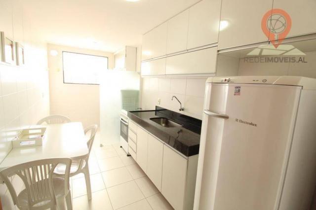 Apartamento com 2 dormitórios à venda, 65 m² por R$ 350.000 - Jatiúca - Maceió/AL - Foto 11