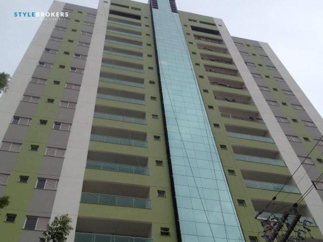 Apartamento no Edifício Saint Riom com 3 dormitórios à venda, 112 m² por R$ 450.000 - Migu
