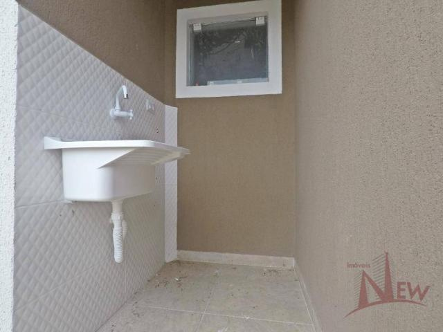 Excelente casa com 02 quartos no Campo Largo da Roseira, São José dos Pinhais - Foto 10