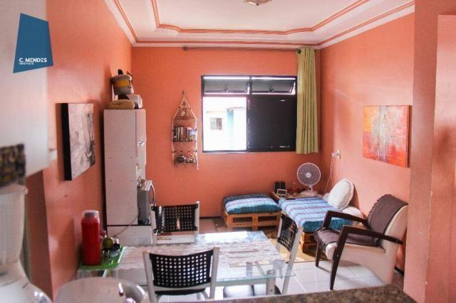 Apartamento 48 m² à venda, 02 Quartos 01 vaga, Antônio Bezerra, Fortaleza.