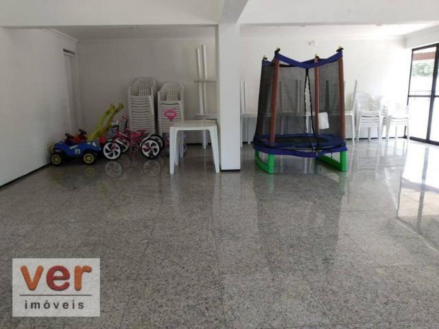 Apartamento com 5 dormitórios à venda, 211 m² por R$ 800.000,00 - Guararapes - Fortaleza/C - Foto 10