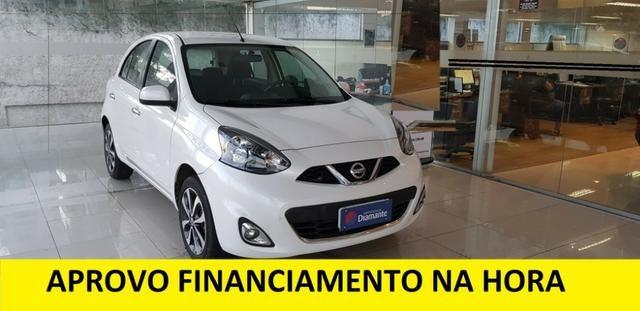 Nissan March sL = Financiamento na hora