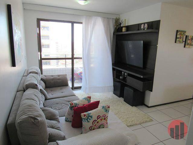 Apartamento com 3 dormitórios para alugar, 63 m² por R$ 1.900/mês - Mucuripe - Fortaleza/C - Foto 15