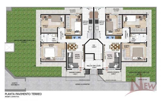 Apartamento com 03 quartos no Cidade Jardim, São José dos Pinhais - Foto 14