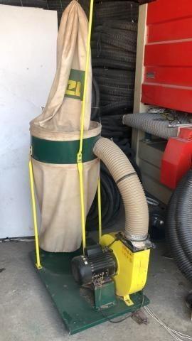 Exaustor Monofásico com 2 sacos