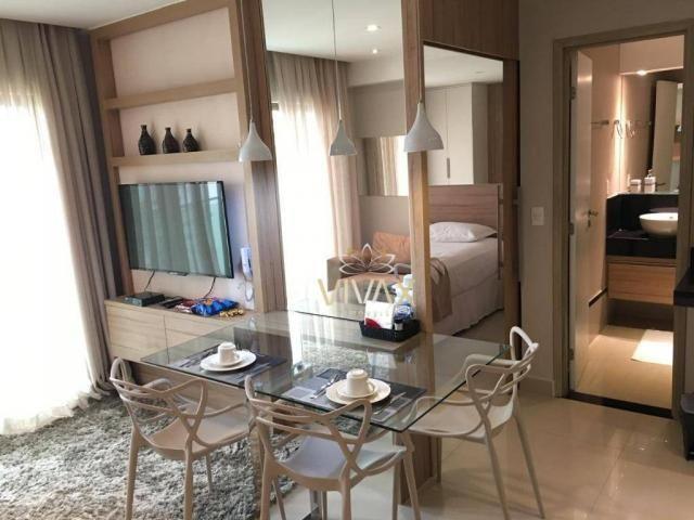 Flat com 1 dormitório à venda, 43 m² por R$ 360.000 - Ponta Negra - Natal/RN