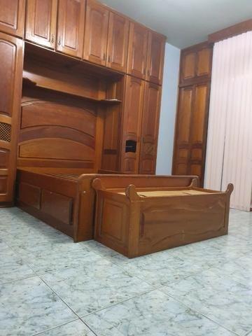 Casa semimobiliada - Pq 10 de Novembro - Foto 3