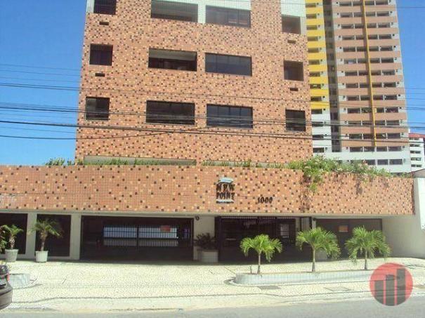 Apartamento com 1 dormitório para alugar, 47 m² por R$ 1.000,00/mês - Praia de Iracema - F - Foto 2