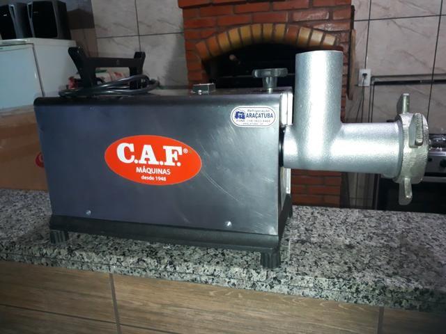 Moedor marca CAF Modelo 22 inox com sistema de segurança NR12 zerado - Foto 2