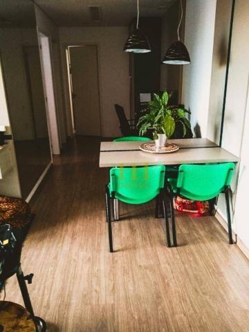 Apartamento com 2 dormitórios à venda, 65 m² por R$ 340.000 - Parque Industrial - São José