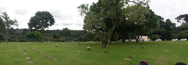 Jazigo no Cemitério Parque Iguaçu