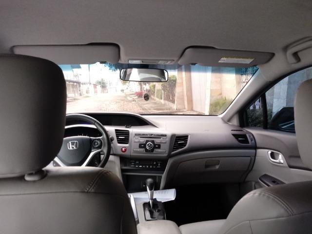 Civic LXR 2.0 Flex 2014 66mil km - Foto 4