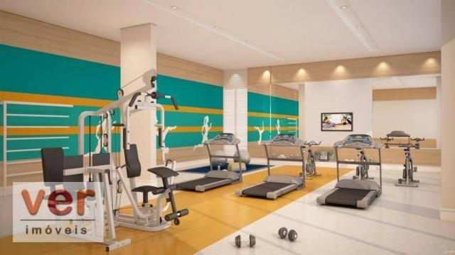 Apartamento com 3 dormitórios à venda, 80 m² por R$ 599.000,00 - Cambeba - Fortaleza/CE - Foto 17