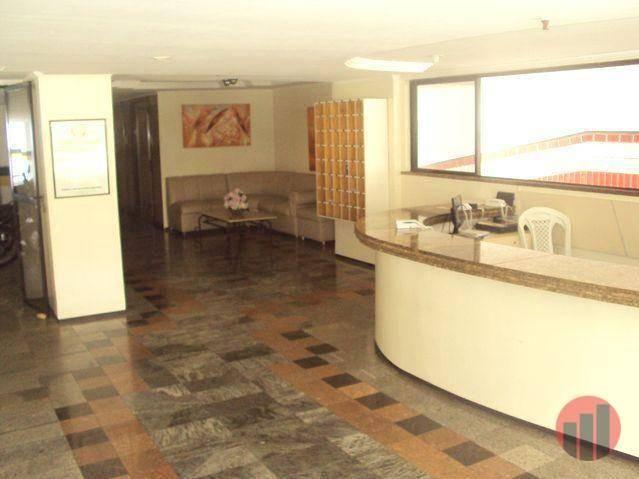 Apartamento com 1 dormitório para alugar, 47 m² por R$ 1.000,00/mês - Praia de Iracema - F - Foto 3