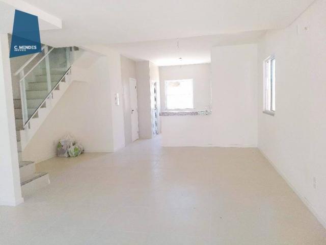 Casa Duplex 124 m² para locação, semi-mobiliada 3 suites 3 vagas, condominio, Jacundá, Eus - Foto 3