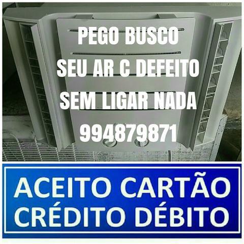 AR CONDICIONADO PAGUE NO CARTÃO C Garantia Entrego
