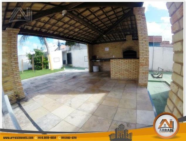 Apartamento com 3 dormitórios à venda, 70 m² por R$ 240.000,00 - Montese - Fortaleza/CE - Foto 4