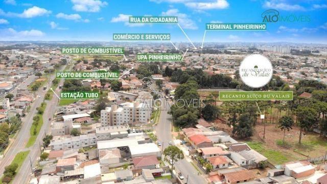 Terreno à venda, 123 m² por r$ 173.558,11 - pinheirinho - curitiba/pr - Foto 4
