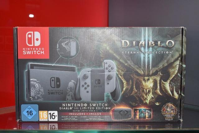 Nintendo Switch Console Diablo III Limited Edition - Produto Novo, Lacrado e com Garantia