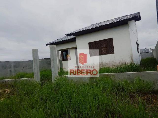 Casa com 3 dormitórios à venda, 69 m² por R$ 215.000 - Nova Divinéia - Araranguá/SC - Foto 2