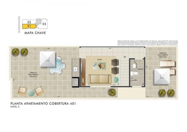Apartamento com 3 dormitórios à venda, 112 m² por R$ 350.000 - Manacás - Belo Horizonte/MG - Foto 7
