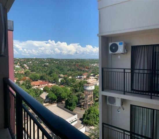 Apartamento com 1 dormitório para alugar, 50 m² por R$ 2.500,00/mês - Edifício Riverside - - Foto 13