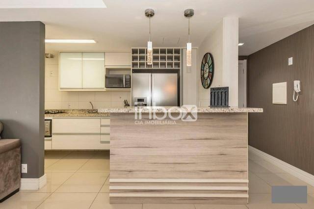 Magnífico apartamento com 2 dormitórios para alugar, 86 m² por R$ 4.800/mês - Três Figueir - Foto 9