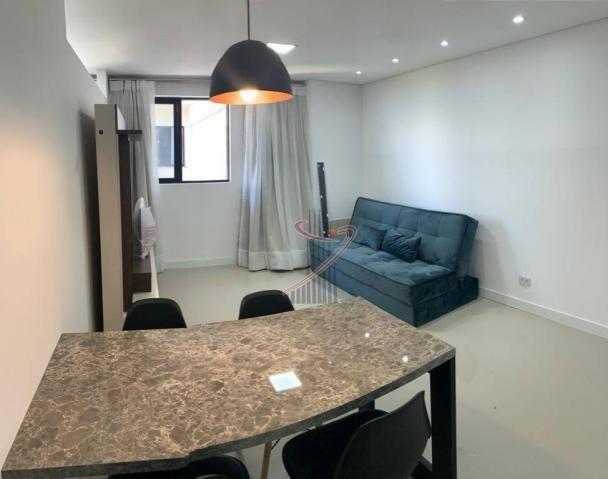Apartamento com 1 dormitório para alugar, 50 m² por R$ 2.500,00/mês - Edifício Riverside - - Foto 6