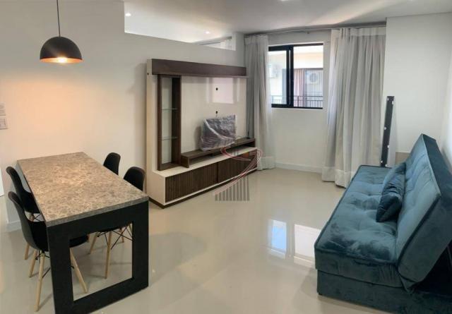 Apartamento com 1 dormitório para alugar, 50 m² por R$ 2.500,00/mês - Edifício Riverside - - Foto 5