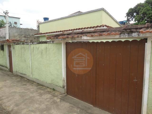 Casa em Manilha - 03 Quartos - Quintal - Garagem - RJ.