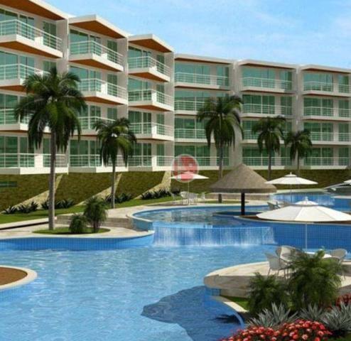 Apartamento com 3 dormitórios à venda, 87 m² por R$ 430.000,00 - Porto das Dunas - Eusébio
