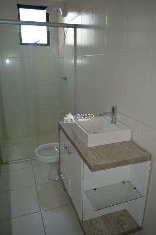 Apartamento para alugar 03 Dormitórios em Santa Maria com Suite Elev Sacada Churrasqueira  - Foto 12