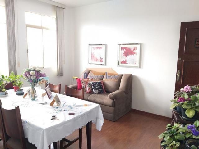 Apartamento à venda com 3 dormitórios em Ermelinda, Belo horizonte cod:42925