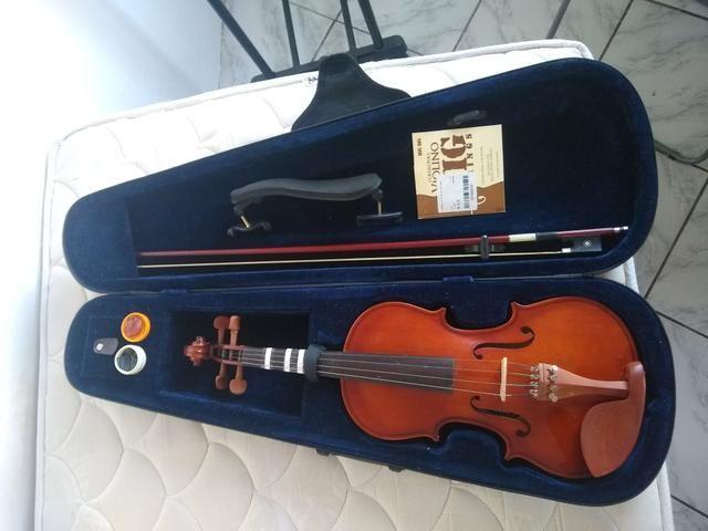 Violino Hofma 4/4 + Acessórios