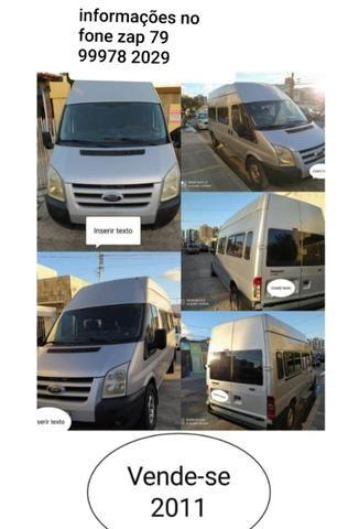 Vendo van ford transit em ótimo estado informações fones zap 99978/2029/ *