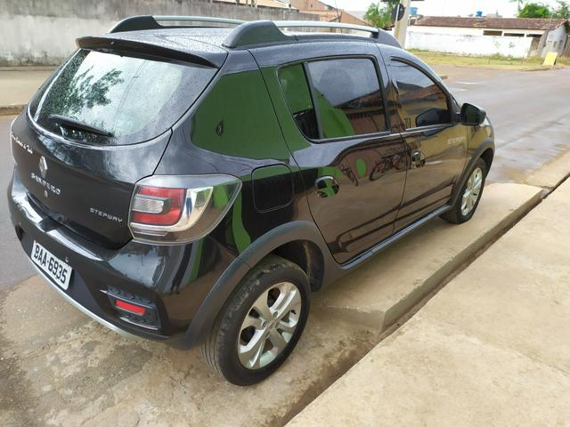 Sandero stepway, 2015/2016 carro top, *81 - Foto 2