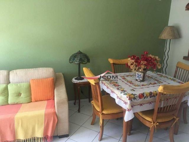 Apartamento com 2 dormitórios à venda, 61 m² por R$ 340.000,00 - Itaipava - Petrópolis/RJ - Foto 3