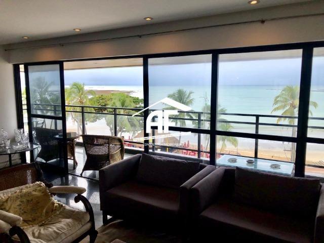 Apartamento com Vista para o mar - 300m² - 3 quartos todos suítes - Ótima localização - Foto 3