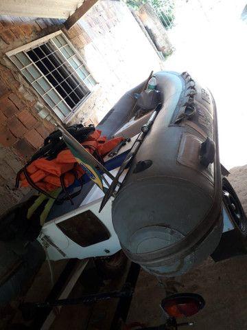 Bote SR10 inflável  - Foto 2