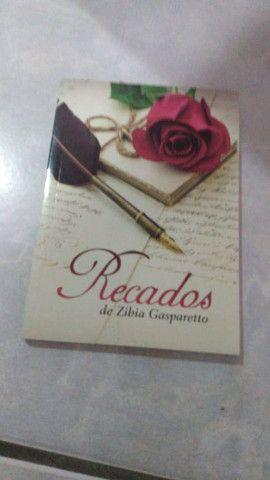 Livro - Recados de Zibia Gasparetto