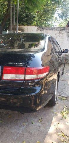 Honda Accord V6 vtec completo teto couro. Nave. Pego menor valor  - Foto 20