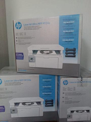Impressora Multifuncional Laser Jet Ultra HP M134A - Foto 2