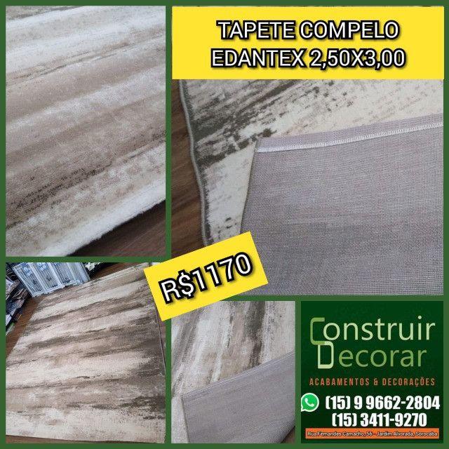 Tapete Edantex Compelo 2,50x3,00 Novo