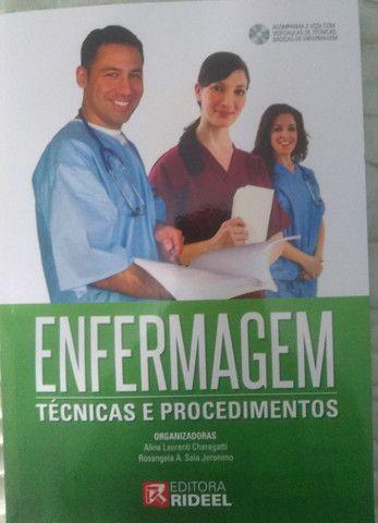 Livros didáticos de Enfermagem, impecável nunca usado. - Foto 4