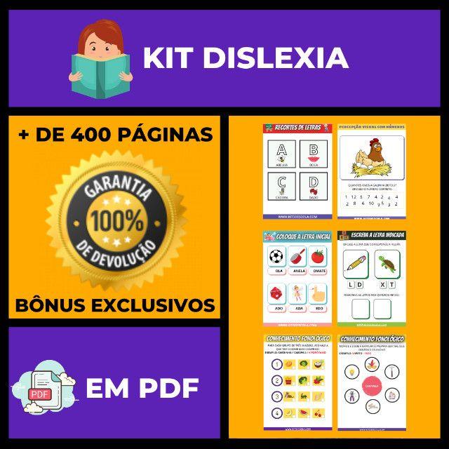 .:: Kit de Atividades ::. Kit Dislexia - Foto 2