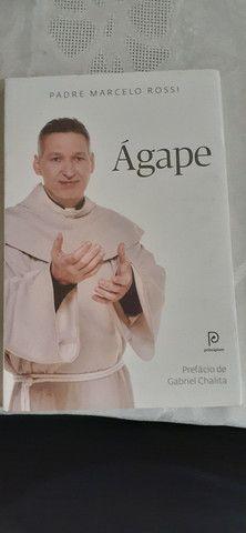 Livros padre Marcelo Rossi Ágape Philia Kairós e uma vida dedicada a Deus - Foto 2