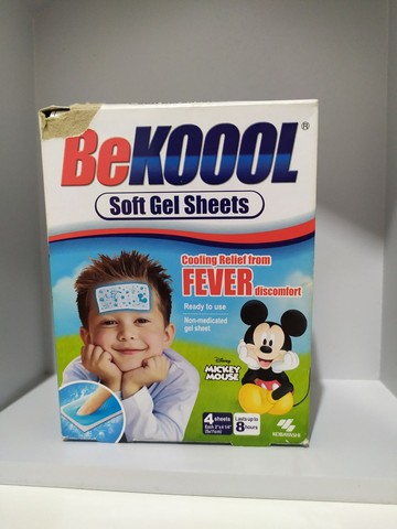 Bekool adesivo para febre