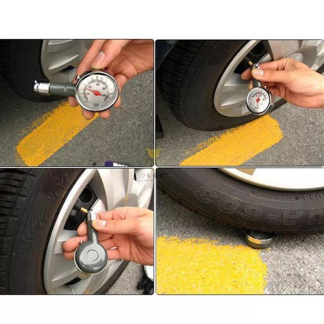 Medidor de Pressão de Pneus Para Carro/moto/bicicleta - Foto 2